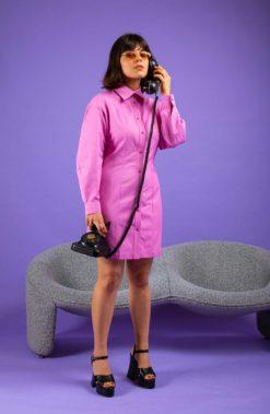 robe ecoresponsable coton so yvette