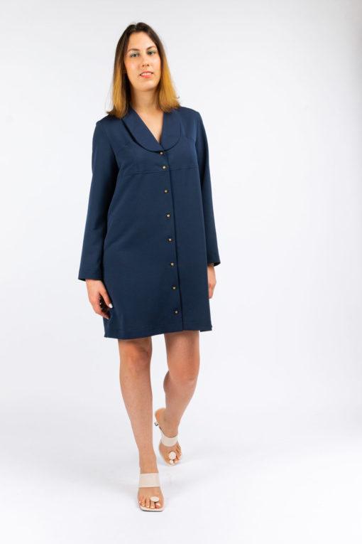 robe chemise diane upcycling fabrics