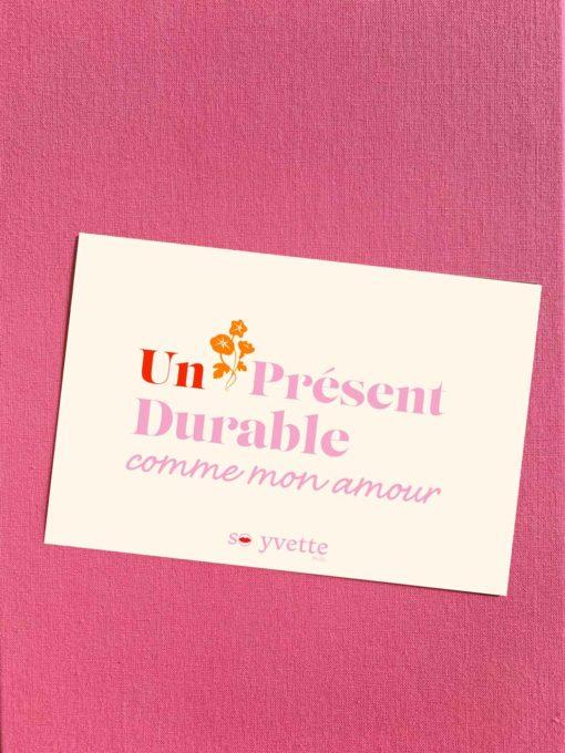 Offrir une carte cadeau So Yvette